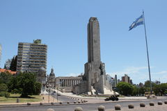 Rosario, Monumento - losu angeles bandera (flaga zabytek) Zdjęcie Royalty Free
