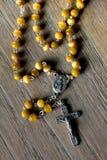 Rosario santo Fotos de archivo