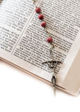 Rosario santo Fotografía de archivo libre de regalías