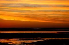 rosario solnedgång Fotografering för Bildbyråer