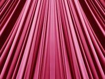 Rosarotes modisches rotes Gewebe Lizenzfreies Stockbild