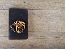 rosary ιερών συνόψεων χαντρών Στοκ φωτογραφία με δικαίωμα ελεύθερης χρήσης