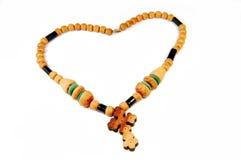 rosary ξύλινο στοκ εικόνες με δικαίωμα ελεύθερης χρήσης