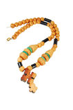 rosary ξύλινο στοκ φωτογραφίες