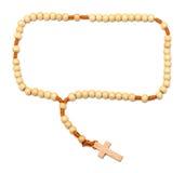 rosary ξύλινο Στοκ φωτογραφίες με δικαίωμα ελεύθερης χρήσης