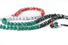 Rosary στα χρώματα Ε.Α.Ε. Στοκ εικόνα με δικαίωμα ελεύθερης χρήσης