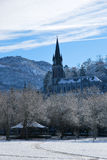 Rosary Basilica of Lourdes Royalty Free Stock Photo