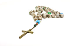 Rosary beads Stock Photography