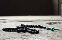 Rosary beads. A praying Rosary beads Stock Image