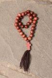 Rosary beads. Royalty Free Stock Photo