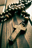 Rosary beads Stock Photo