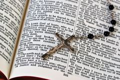 Rosary and Bible Royalty Free Stock Image