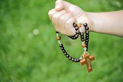 Rosary stock image