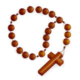 Rosary and Cross Stock Images