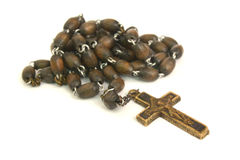 Rosary, crucifix Royalty Free Stock Image
