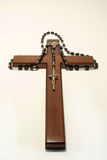 Rosary and Crucifix Stock Photos