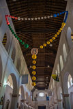 Rosary, inside a traditional Church in Chiapa de Corzo, Travelin Royalty Free Stock Images