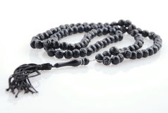 Rosary islamic/chrisitan symbol Stock Images