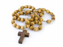 Rosary, isolated Royalty Free Stock Image