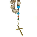Rosary n Cross Stock Photos