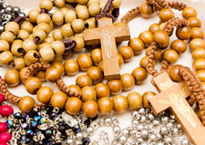 Rosary Necklace Variants Stock Photos