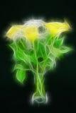 rosas 3d. Fotos de Stock