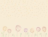 Rosas abstractas Imágenes de archivo libres de regalías