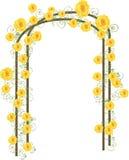 Rosas amarillas Imágenes de archivo libres de regalías