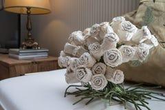 Rosas artificiales Fotografía de archivo