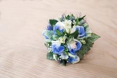 Rosas azules Foto de archivo