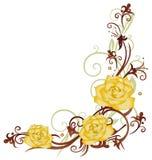 Rosas, casamento ilustração stock