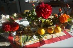 Rosas da manhã Imagens de Stock