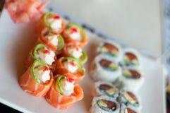Rosas de color salmón Imagen de archivo