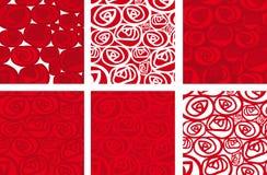 Rosas de Fondo (vector) Imagen de archivo