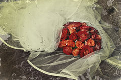Rosas de Grunge Imagens de Stock Royalty Free