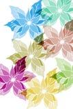 Rosas de inverno ilustração do vetor