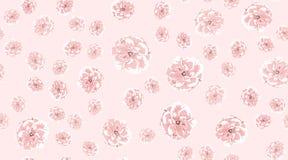 Rosas de la acuarela, modelo incons?til floral foto de archivo libre de regalías