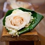 Rosas de la boda Fotografía de archivo