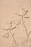 Rosas de la piedra arenisca Imágenes de archivo libres de regalías