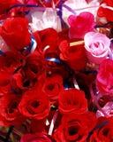 Rosas de pano Fotografia de Stock Royalty Free