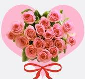 Rosas de Valentin Imagenes de archivo