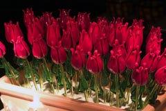 Rosas de vidro fundidas mão, Veneza Fotos de Stock Royalty Free