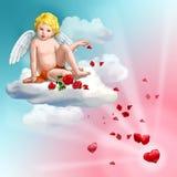 Rosas del amor stock de ilustración