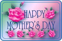 Rosas del día de madre fotografía de archivo
