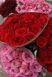 Rosas del día de tarjeta del día de San Valentín Imagen de archivo libre de regalías