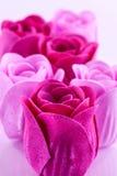 Rosas del jabón Imágenes de archivo libres de regalías