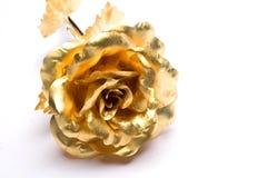 Rosas del oro Fotos de archivo libres de regalías