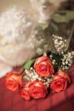 Rosas do ramalhete Imagens de Stock Royalty Free