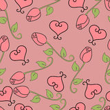 Rosas do Valentim Ilustração Stock