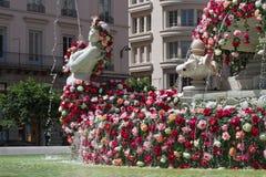 Rosas e água Imagens de Stock